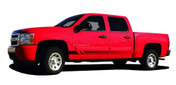 VIKING : Universal Fade Style Vinyl Graphics Rocker Panel Stripes  Universal Fade Style Vinyl Graphics and Decal Rocker Panel Stripe! Nice addition to cars and trucks, shown on a Chevy Silverado . . . Pre-cut pieces ready to install! A fantastic addition to your vehicle!