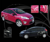 WHISPER : Universal Style Vinyl Graphics Kit - Universal Style Vinyl Graphics Kit, engineered to fit many of todays smaller compact cars! Can also be used in a wide variety of universal applications . . . Only limited by your imagination!