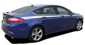 TOPSIDE : 2013 2014 2015 2016 2017 2018 Ford Fusion Vinyl Graphics Decals Stripe Kit! Professionally Designed Vinyl Graphics Stripes Decals Kit for the Ford Fusion! Easy to Install with 100's of colors to choose from . . .