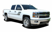 SPEED XL : 2000-2018 Chevy Silverado or GMC Sierra Vinyl Graphic Decal Stripe Kit. Chevy Silverado and GMC Sierra Vinyl Graphics, Stripes and Decal Package! Ready to install. A fantastic addition to your new truck, using only Premium Cast 3M, Avery, or Ritrama Vinyl!