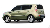 RUSH : Automotive Vinyl Graphics and Decals Kit - Shown on KIA SOUL (M-DL01)
