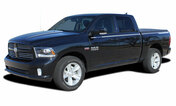 """RAM HUSTLE : 2009 2010 2011 2012 2013 2014 2015 2016 2017 2018 Dodge Ram Hood Spears and Side Stripes Vinyl Graphics Kit! * NEW * Dodge Ram Hustle : Hood Spears and Side Stripes Vinyl Graphics Kit! Engineered specifically for the new Dodge Ram body styles, this kit will give you a factory """"MoPar OEM Style"""" upgrade look at a discount price! Ready to install!"""