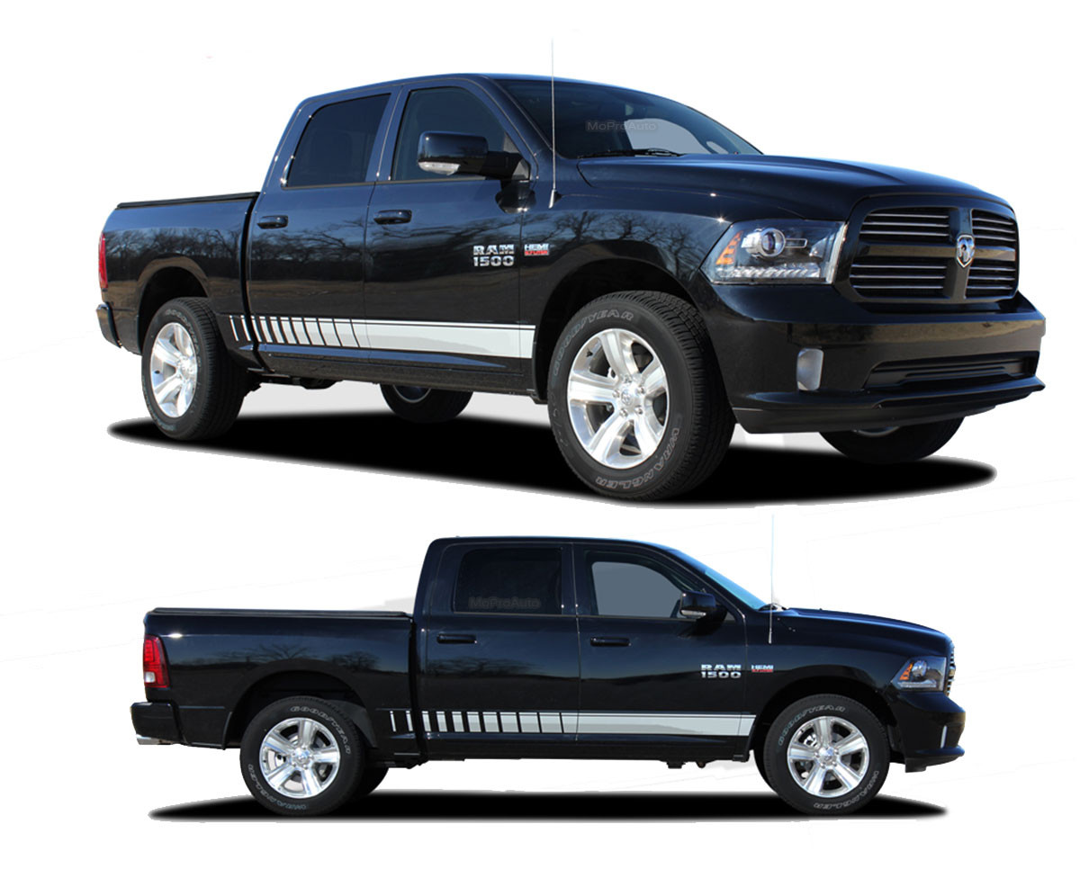 stripes side decals and dodge digital car cut vinyl auto stripe graphics up ram truck graphix xtreme products