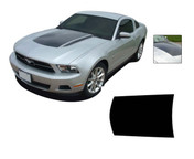 Mustang DOMINATOR (Hood Only) : 2010-2012 Ford Mustang Graphics Kit - Vinyl Graphics Kits for the 2010-2012 Ford Mustang! Give a modern muscle car look to your new Mustang that will set your ride apart! Hood Decal Included!