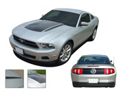 Mustang DOMINATOR (Complete Kit) : 2010-2012 Ford Mustang Graphics Kit - * NEW Vinyl Graphics Kits for the 2010-2012 Ford Mustang! Give a modern muscle car look to your new Mustang that will set your ride apart! Hood Stripe, Hood Spears, and Deck Lid Blackout Included!