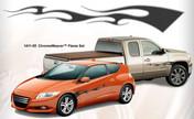 CHROME WEAVER : Automotive Flames Graphics (M-1411)