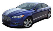 DAGGER : 2013 2014 2015 2016 2017 2018 Ford Fusion Vinyl Graphics Decals Stripe Kit! Professionally Designed Vinyl Graphics Stripes Decals Kit for the Ford Fusion! Easy to Install with 100's of colors to choose from . . .