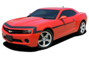 """Camaro VINTAGE : 2010 2011 2012 2013 Chevy Camaro """"1968"""" Style Nose and Fascia Vinyl Graphics Stripe Kit - * NEW * 2010-2013 Chevy Camaro VINTAGE """"1968"""" Style Nose and Fascia Stripe Kit! Engineered specifically for the new Camaro, this kit will give you a factory OEM upgrade look at a discount price! Pre-Cut pieces ready to install!"""