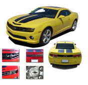 Camaro TOTAL BLACKOUTS : 2010 2011 2012 2013 Camaro Accent Decals Kit -  2010-2013 Chevy Camaro BLACKOUTS Kit! Engineered specifically for the new Chevy Camaro, this kit will give you a fantastic look at a discount price! Pre-Cut pieces ready to install! (Note: R-SPORT Racing Stripes not included)