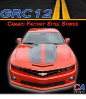 2010-2013 Camaro Factory Style : Racing Stripes Kit