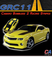 2010-2013 Camaro Bumble Bee 2 : Racing Stripes Kit
