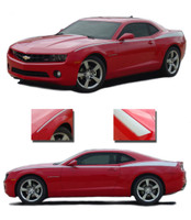 Camaro LEGACY : 2010 2011 2012 2013 Chevy Camaro Side Stripes! 2010-2013 Chevy Camaro LEGACY Style Side Stripe Kit! Engineered specifically for the new Camaro, this kit will give you a factory OEM upgrade look at a discount price! Pre-Cut pieces ready to install!