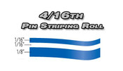 4/16th x 150ft Professional Vinyl Pinstriping Roll  Pro Grade Vinyl Pin Striping Rolls Made Exclusively for the Automotive Market!