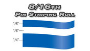 8/16th x 150ft Professional Vinyl Pinstriping Roll  Pro Grade Vinyl Pin Striping Rolls Made Exclusively for the Automotive Market!