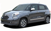 Fiat 500L Vinyl Graphics, Stripes and Decal Kit! Driver and Passenger Side Stripes Included. Pre-trimmed sections ready to install, using only Premium Cast 3M, Avery, or Ritrama Vinyl!