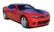 2014 2015 Chevy Camaro SINGLE STRIPE 2 Factory Style Racing Stripe Kit! Engineered specifically for the new Camaro, this kit will give you a factory OEM upgrade look at a discount price! Pre-Cut pieces ready to install! Fits SS, RS, LT, LS Coupe Models . . .