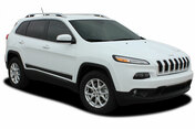 2013 2014 2015 2016 2017 2018 2019 Jeep Cherokee Lower Rocker Vinyl Graphics Decal Stripe BRAVE Vinyl Graphics Kit! Engineered specifically for the new Jeep Cherokee, this kit will give you a factory OEM upgrade look at a discount price! Pre-trimmed sections ready to install! Fits Jeep Cherokee Lower Side Rocker Panels . . .