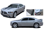 RECHARGE COMBO : Vinyl Graphics Kit for Dodge Charger - Factory OEM Style Dodge Charger 2011-2014 Vinyl Graphics, Stripes and Decal Kit! Hood and Rear Quarter Panel Decals Included. Pre-cut pieces ready to install, using only Premium Cast 3M, Avery, or Ritrama Vinyl!