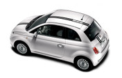 Fiat 500 Vinyl Graphics, Stripes and Decal Kit! Hood, Roof, and Trunk Decals Included. Pre-cut pieces ready to install, using only Premium Cast 3M, Avery, or Ritrama Vinyl!