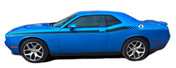"""Challenger DUAL 2 : Vinyl Graphics and Stripe Kit fits 2011 2012 2013 2014 2015 2016 2017 2018 Dodge Challenger!  - DUAL 2 """"OEM"""" Style Graphic, Decal and Stripe Package for the New Dodge Challenger! RT Decals Included! Ready to install . . . A fantastic customization that fits, using only Premium Cast 3M, Avery, or Ritrama Vinyl!"""