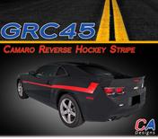 2010-2015 Chevy Camaro Reverse Hockey Stripe Kit