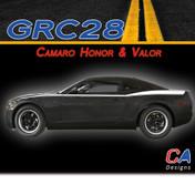 2010-2015 Chevy Camaro Honor and Valor Stripe Kits (M-GRC28)