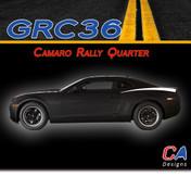 2010-2015 Chevy Camaro Rally Quarter Vinyl Stripe Kit (M-GRC36)