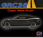 2010-2015 Chevy Camaro Arrow Accent Vinyl Stripe Kit (M-GRC38)