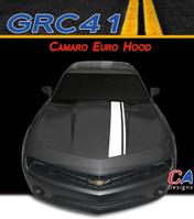 2010-2013 Chevy Euro Hood Vinyl Stripe Kit (M-GRC41)