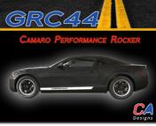 2010-2015 Chevy Camaro Performance Rocker Vinyl Stripe Kit (M-GRC44)