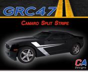 2010-2015 Chevy Camaro Split Vinyl Stripe Kit (M-GRC47)