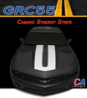 2014-2015 Chevy Camaro Synergy Hood Vinyl Stripe Kit (M-GRC55)