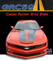 2014-2015 Chevy Camaro Factory Style Racing Vinyl Stripe Kit (M-GRC59)