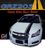 2011-2015 Chevy Cruze Euro Rally Racing Vinyl Stripe Kit (M-GRZ203)