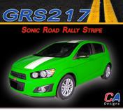 2012-2015 Chevy Sonic Road Rally Vinyl Stripe Kit (M-GRS217)