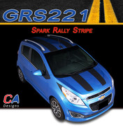 2013-2015 Chevy Spark Rally Vinyl Stripe Kit (M-GRS221)