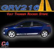 2011-2015 Chevy Volt Thunder Rocker Vinyl Stripe Kit (M-GRV216)