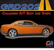 2008-2010 Dodge Challenger R/T Body Line Stripe Kit (M-GRD202-353)