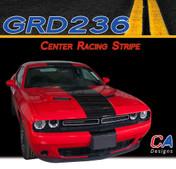 2015-2018 Dodge Challenger Center Racing Vinyl Stripe Kit (M-GRD236)