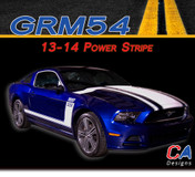 2013-2014 Ford Mustang Power Vinyl Stripe Kit (M-GRM54)