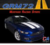 2015-2016 Ford Mustang Racing Stripe Vinyl Stripe Kit (M-GRM72)
