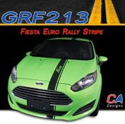 2014-2015 Ford Fiesta Euro Rally Vinyl Stripe Kit (M-GRF213)