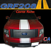 2009-2014 Ford F-150 Center Racer Vinyl Stripe Kit (M-GRF208)