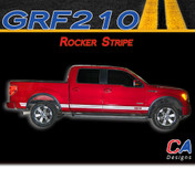 2009-2014 Ford F-150 Rocker Stripe Vinyl Stripe Kit (M-GRF210)