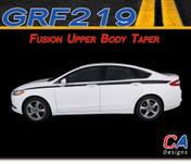 2013-2015 Ford Fusion Upper Body Taper Vinyl Stripe Kit (M-GRF219)