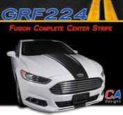 2013-2015 Ford Fusion Complete Center Vinyl Stripe Kit (M-GRF224)
