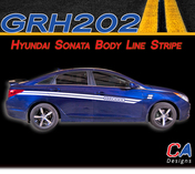 2009-2014 Hyundai Sonata Body Line Vinyl Stripe Kit (M-GRH202)