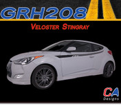 2011-2015 Hyundai Veloster Stingray Vinyl Stripe Kit (M-GRH208)