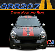 Countryman Triton Vinyl Racing Stripe Kit (M-GRR207)