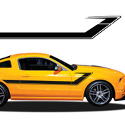 TRACER : Automotive Vinyl Graphics and Decals Kit - Shown on FORD MUSTANG (M-917)